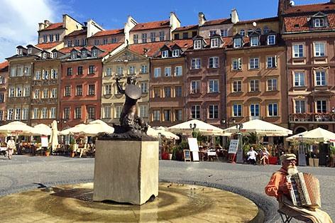 ポーランド ワルシャワ